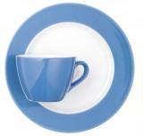 Coffeeshop polarblau