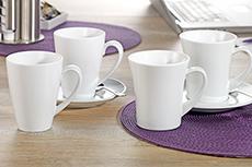Becher/Tassen aus Porzellan
