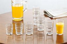 Sonstige stapelbare Gläser