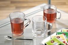 Henkelbecher Glas