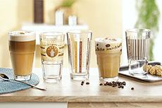 Kaffeeglas-Becher