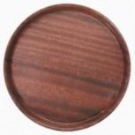 Tablett rund Pressholz