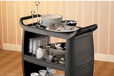 Servierwagen Black-Beauty