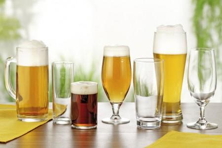 Einzelgläser Bier
