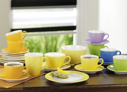 Geschirr Coffeeshop Colour