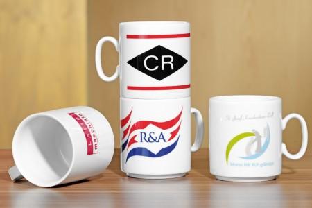 Kaffeebecher m. Logo