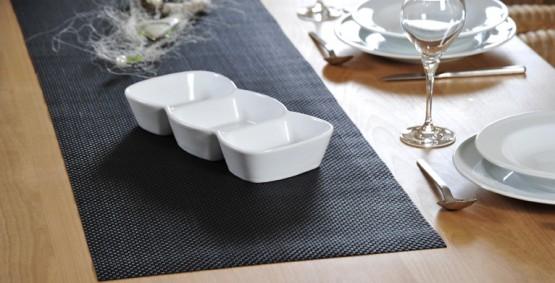 Tischwäsche aus Kunststoff