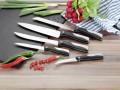 5-tlg. Messerset CALLISTO  bestehend aus: je einem Kochmesser,  Fleischmesser, Brotmesser, Schälmesser und