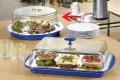 Buffet Kühlplatte COOL mit Haube, rund,  Durchmesser: 350 mm, Höhe: 150 mm