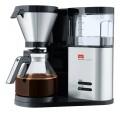 Filterkaffeemaschine AromaElegance von Melitta mit Glaskanne und abnehmbarem Wassertank.  Für bis zu 10 Tassen.