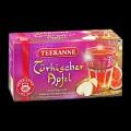 Teekanne TÜRKISCHER APFEL, Inhalt: 20 Teebeutel à 1,8 g, einzeln kuvertiert, Früchtetee mit Apfel- und Feigenaroma.