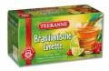 Teekanne BRASILIANISCHE LIMETTE, Inhalt: 20 Teebeutel à 1,8 g, einzeln kuvertiert, Früchtetee mit Limette-Acerola-Aroma.