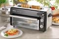 Toaster/Miniofen TOAST N'GRILL von Tefal. Langschlitztoaster u. Miniofen zum Aufwärmen, Auf- backen, Überbacken und mehr. Schwarz/Alu matt.