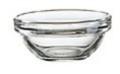 Glasschale EMPILABLE, Inhalt: 0,026 Liter, Durchmesser: 60 mm, Höhe: 27 mm, stapelbar.