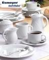 Ersatzdeckel zu Kaffeekanne mit Inhalt 0,30 ltr - Form AMBIENTE - uni weiß - ohne Kanne