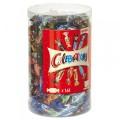Mars Celebrations, 160 Stück (ca. 1435 g) in einer Runddose. 8 Sorten gefüllte Schokoladen- Klassiker im Miniformat von Mars.