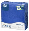 Servietten, dunkelblau, Tork Premium 2-lagig, 38 x 39 cm, 1/4 Falz Paket à 50 Stück
