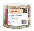 Zucker Portions-Packung PARIS von Hellma,, Inhalt: 180 Stück à 5 g je Runddose. Feinzucker in Motivpäckchen Serie Paris.