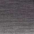 APS Tischset - schwarz, grau 45 x 33 cm PVC,  Feinband