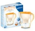 BRITA Marella Cool Marigold Wasserfilter,  Gesamtvolumen:2,4l, gefiltertes Wasser:1,4l,  BRITA Memo