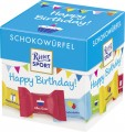 Ritter Sport Schokowürfel Happy Birthday 176G