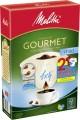 Melitta Filtertüten 1x4 80St Gourmet mild 80ST