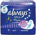 Always Binden Ultra Night 9ST