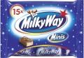 Milky Way Mini, Inhalt: 15 Stück je Beutel.
