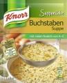 Knorr Suppenliebe Buchstaben Suppe 82G