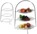 Telleretagere, 3-stufig für Teller bis 18 cm  Lieferung ohne Teller