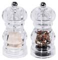 Salz-/Pfeffermühlen-Set PEPPER klein Durchmesser: 5,5 cm, Höhe: 12 cm aus Acrylglas,  Volumen: 0,05 l