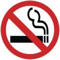 Vogue Rauchverbot Schild für Fenster