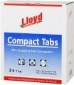 LLOYD COMPACT-TABS 20 gr. mit eing.Klarspüler!  SUPER SPÜLERGEBNIS 112 TABS einzeln verpackt =1  Krt.