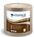 Hygenius 620 Handtuchrollen Natural 2-lg, 6x155m  Außendurchm. 18,5 cm Außenabrollung Eco-Label