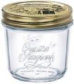 Quattro Stagioni Einmachglas 20cl - mit  Metallschraubverschluß - Bormioli Rocco  Professional