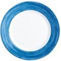 Teller flach 15,5 cm Form Brush - dunkelblau