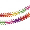 PAPSTAR Girlande, Papier oval 4 m Rainbow