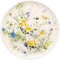 Brillance Fleurs des Alpes von Rosenthal, Brotteller 18 cm. Aus Bone China, spülmaschinengeeignet, mikrowellengeeignet.