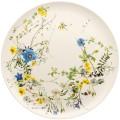 Brillance Fleurs des Alpes von Rosenthal, Platztteller 32 cm. Aus Bone China, spülmaschinengeeignet, mikrowellengeeignet.
