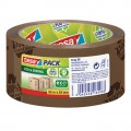 tesa® Packband tesapack® Eco  Strong 50 mm x 66  m (B x L) Polypropylen braun 100  recycled  plastic