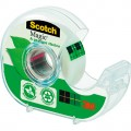 Scotch® Handabroller A greener choice nachfüllbar  inkl. 1 Rolle Scotch® Magic™ Klebeband (900A), 19  mm x 20 m (B x L) transparent