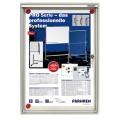 Franken Schaukasten X-tra! Line® 28 x 37 x 3 cm  (B x H x T) 1 x DIN A4 Aluminium/Kunststoff  silbereloxiert