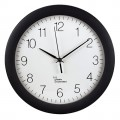 Hama Funkuhr PG-300 30cm Innenbereich Kunststoff, Maße: 30 x 5,2 cm (Ø x T), Einsatzbereich: Innenbereich, Art der