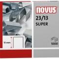 NOVUS Heftklammer Blockhefter 23/13 SUPER Stahl  1.000 St./Pack.