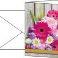 Sigel Faltkarte 220g/m farbig 10 St./Pack.