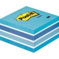 Post-it® Haftnotizwürfel 76 x 45 x 76 mm (B x H x  T) pastellblau 450 Bl.