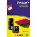 Pelikan Transparentpapier 233 M/10 18,5 x 29,7 cm  (B x H) 130g/m farbig sortiert 10 Bl./Pack.
