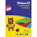 Pelikan Tonpapier 240 M/10 22 x 32 cm (B x H)  130g/m farbig sortiert 10 Bl./Pack.