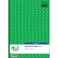 Sigel Kassenabrechnung DIN A4 nicht  selbstdurchschreibend 1 Durchschlag 2 x 50 Bl.