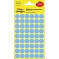 Avery Zweckform Markierungspunkt 12mm Papier blau  270 Etik./Pack.
